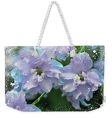 Mauves And Blues Weekender Tote Bag