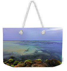 Mayan Sea Rocks Weekender Tote Bag