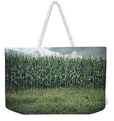 Weekender Tote Bag featuring the photograph Maze Field by Steve Stanger