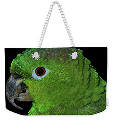 Weekender Tote Bag featuring the photograph Mealy Amazon by Debbie Stahre