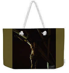 Measuring Up To Jesus Weekender Tote Bag