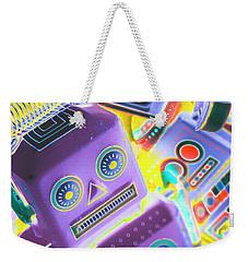 Mechanic Al Pop-art Weekender Tote Bag