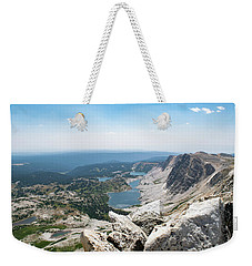 Medicine Bow Peak Weekender Tote Bag