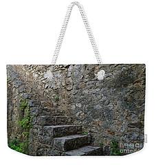 Medieval Wall Staircase Weekender Tote Bag