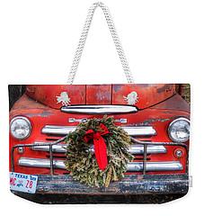 Merry Christmas Texas Weekender Tote Bag