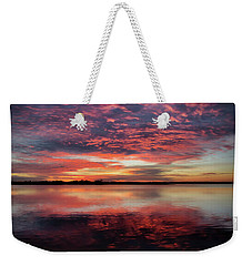 Mid October Sunset Weekender Tote Bag
