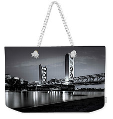 Weekender Tote Bag featuring the photograph Midnight Hour- by JD Mims