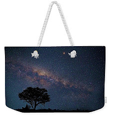 Milky Way Over Africa Weekender Tote Bag