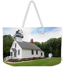 Mission Point Lighthouse Weekender Tote Bag