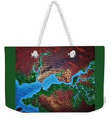 Mission River Weekender Tote Bag