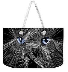 Mister Whiskers Weekender Tote Bag