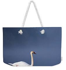 Misty River Swan 2 Weekender Tote Bag