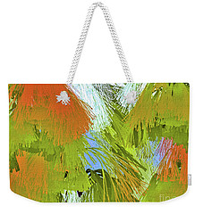 Modern Art   Tropical Flare  Abstract Weekender Tote Bag