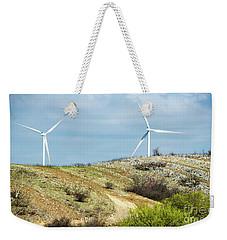 Modern Windmill Weekender Tote Bag