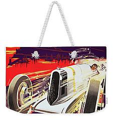 Monaco Grand Prix 1930, Vintage Racing Poster Weekender Tote Bag