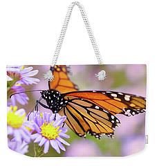 Monarch Close-up Weekender Tote Bag