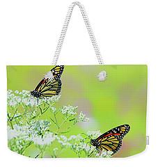 Monarchs In A Meadow Weekender Tote Bag