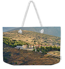 Monastery Agion Anargiron Above Argos Weekender Tote Bag