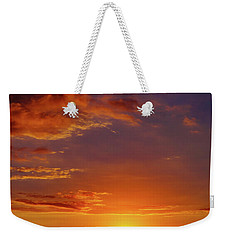 Monday Sunset Weekender Tote Bag