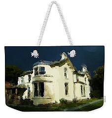 Moody Sky Over Allenbank Painting Weekender Tote Bag