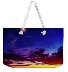 Moon Sky Weekender Tote Bag