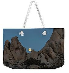 Moonrise In The Sight Weekender Tote Bag