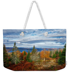 Mooselookmeguntic Lake Fall Colors Weekender Tote Bag