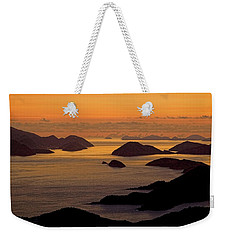 Morning Islands Weekender Tote Bag