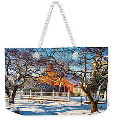 Morning Light, Winter Garden. Weekender Tote Bag