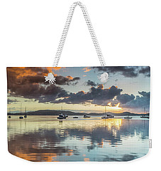 Morning Reflections Waterscape Weekender Tote Bag