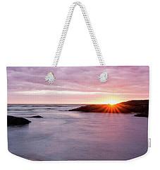 Morning Sun Good Harbor Weekender Tote Bag