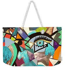 Motley Eye 4 Weekender Tote Bag