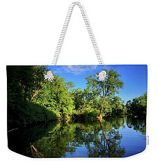 Weekender Tote Bag featuring the photograph Mount Vernon Iowa by Dan Miller