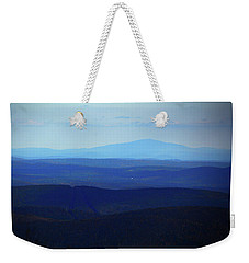 Weekender Tote Bag featuring the photograph Mount Monadnock From Mount Greylock by Raymond Salani III