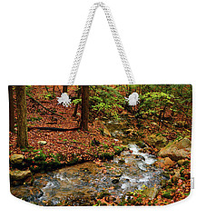 Weekender Tote Bag featuring the photograph Mountain Creek In Ma by Raymond Salani III