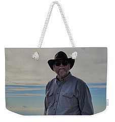 Mountain Man Weekender Tote Bag
