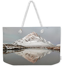 Weekender Tote Bag featuring the photograph Mountain Sunrise - Glencoe - Scotland by Grant Glendinning