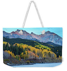 Weekender Tote Bag featuring the photograph Mountain Trout Lake Wonder by James BO Insogna