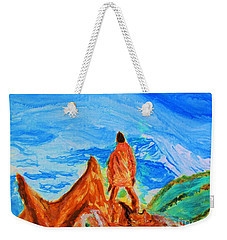 Mountain Vista Weekender Tote Bag