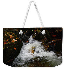 Weekender Tote Bag featuring the photograph Mountain Water by Raymond Salani III