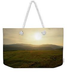Mountains At Dawn Weekender Tote Bag