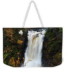 Weekender Tote Bag featuring the photograph Moxie Falls by Rick Hartigan
