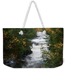 Weekender Tote Bag featuring the photograph Moxie Stream by Rick Hartigan