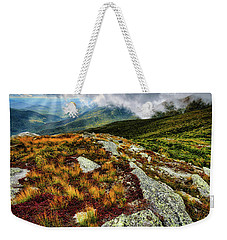 Mt. Washington Nh, Autumn Rays Weekender Tote Bag