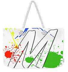 Weekender Tote Bag featuring the digital art MTM by Meet the Masters