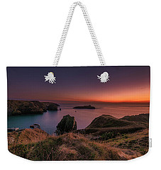 Mullion Cove - Sunset 2 Weekender Tote Bag