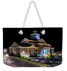 Municipal Center At Night - North Augusta Sc Weekender Tote Bag