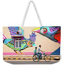 Mural Art Weekender Tote Bag