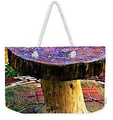Mushroom Table Weekender Tote Bag
