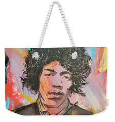 Music Doesnt Lie Weekender Tote Bag